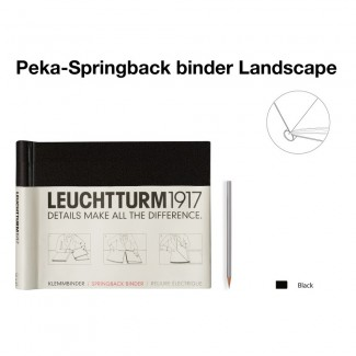 LEUCHTTURM1917 Springback binder Classic A4 Landscape