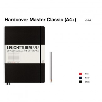 LEUCHTTURM1917 Notebook (A4+) Master Classic Hardcover