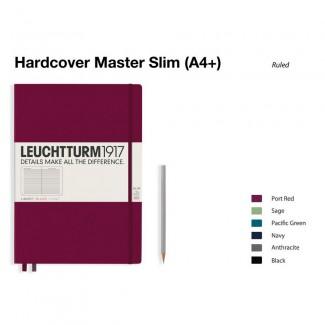 LEUCHTTURM1917 Notebook (A4+) Master Slim Hardcover