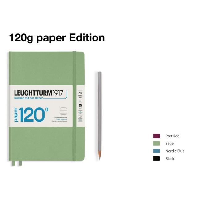 LEUCHTTURM1917 120g Edition Notebook (A5) Medium hardcover
