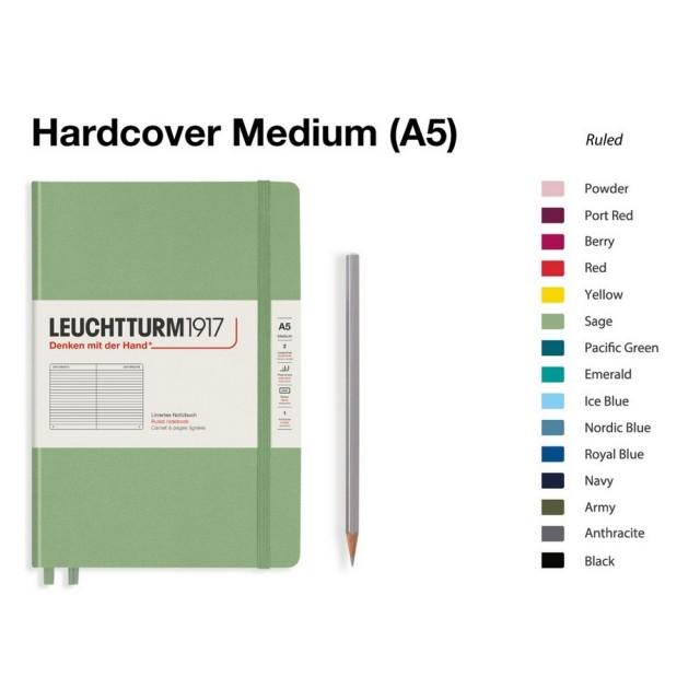 LEUCHTTURM1917 Notebook (A5) Medium Hardcover