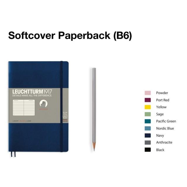 LEUCHTTURM1917 Notebook (B6) Paperback softcover