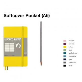 LEUCHTTURM1917 Notebook (A6) Pocket Softcover