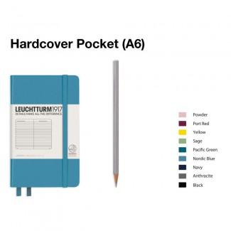 LEUCHTTURM1917 Notebook (A6) Pocket Hardcover