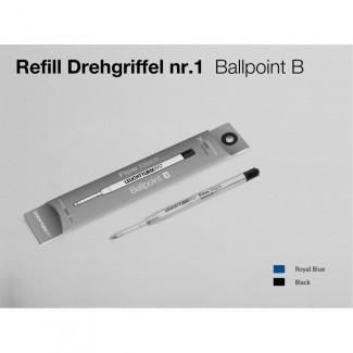 LEUCHTTURM1917 Refill double pack for Drehgriffel Nr. 1 Ballpoint refill -  B)