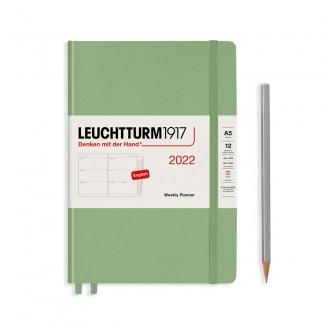 LEUCHTTURM1917 Medium (A5) Weekly Planner 2022