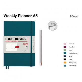 LEUCHTTURM1917 Medium (A5) Weekly Planner 2022Softcover