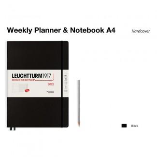 LEUCHTTURM1917 Master (A4+) Weekly Planner 2022& Notebook