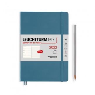 LEUCHTTURM1917 Medium (A5)Weekly Planner 2022& Notebook Softcover