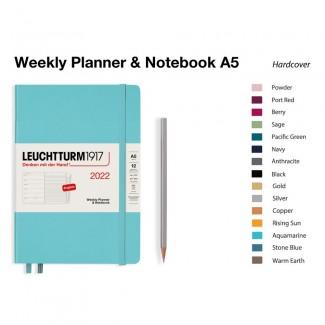 LEUCHTTURM1917 Medium (A5) Weekly Planner 2022& Notebook