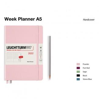 LEUCHTTURM1917 Medium (A5) Week Planner 2022