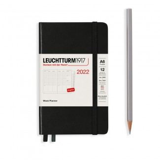 LEUCHTTURM1917 Pocket(A6) Week Planner 2022